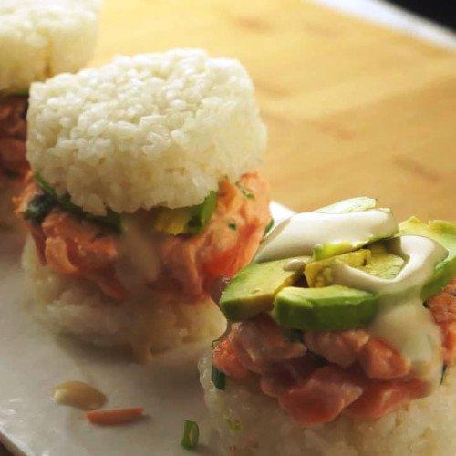 Sushi Burger | Tidifoodie