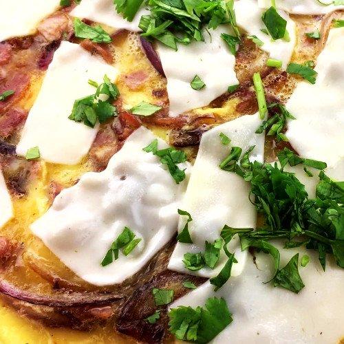 Omelette espagnole à la Tidifoodie